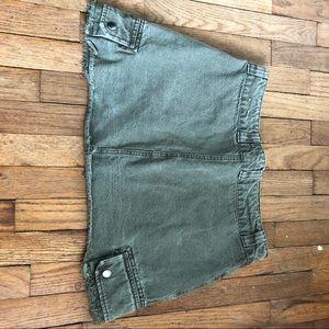 Pull&Bear Skirts - H&M cargo mini skirt